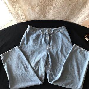 Liz Claiborne Blue Jeans Strait Size 12.